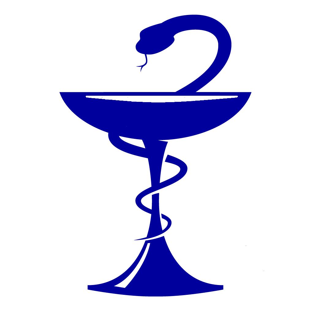 Чаша со змеей эмблема медицины картинка вектор